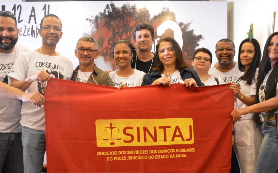 Com questionamento à Justiça brasileira, Fenajud realiza Conseju; Delegação do SINTAJ contou com  dez participantes